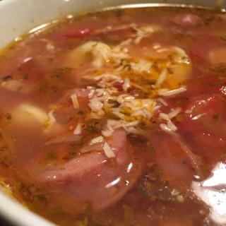 Quick Tortellini-Sausage Soup
